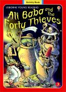 Usborne Young Reading Activity Book 1-03 : Ali Baba and the Forty Thieves (Paperback)