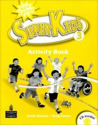 Superkids Level 3 : Activity Book with CD (New Edition / Paperback)
