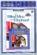 Scholastic Hello Reader 3-02 : The Blind Men and the Elephant (Workbook Set)