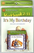 My First Literacy Level 2-11 : It's My Birthday (Paperback Set)(New)