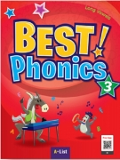 LW-Best Phonics 3 SB (with Readers+DVD+CD)